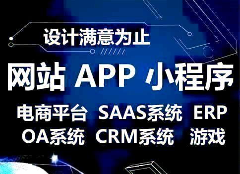 各类软件订制开发,手机APP,微信小程序,saas平台搭建