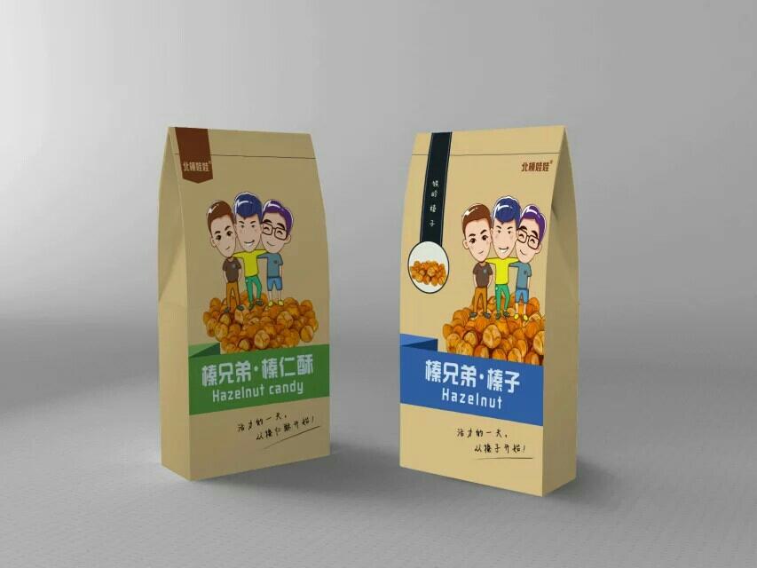 包装设计包装袋包装盒高端包装食品包装卡通插画漫画